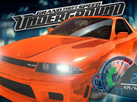 Need for Speed Underground Speedometer v0.0.6