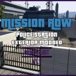 Police Station - Mission Row Exterior Modded [FiveM | SP Menyoo] [YMAP | XML] v1.1