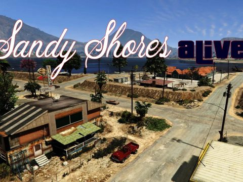 Sandy Shores Alive [MapEditor/YMAP] 1.8.1