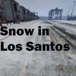 Snow in Los Santos 0.4b