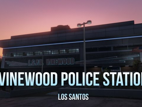 Vinewood Police Station Interior [YMAP/Map Builder] 1.1