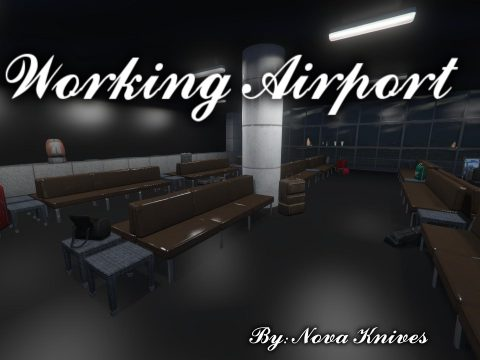 Working Airport Interior