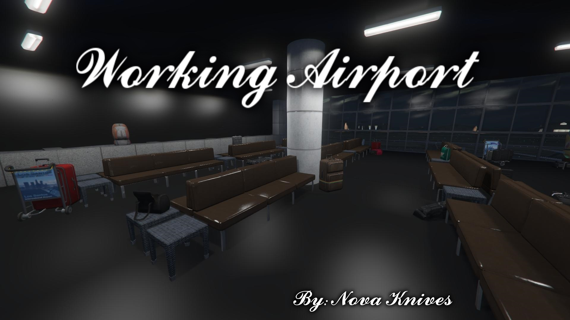Working Airport Interior