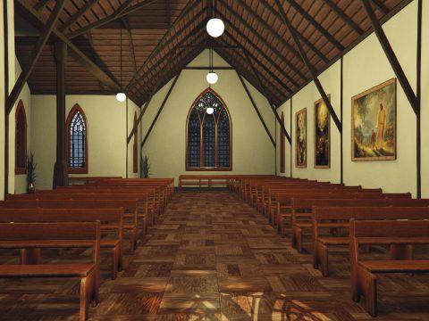 MLO - Catholic Church Interior [SP / FiveM / RageMP] 1.0