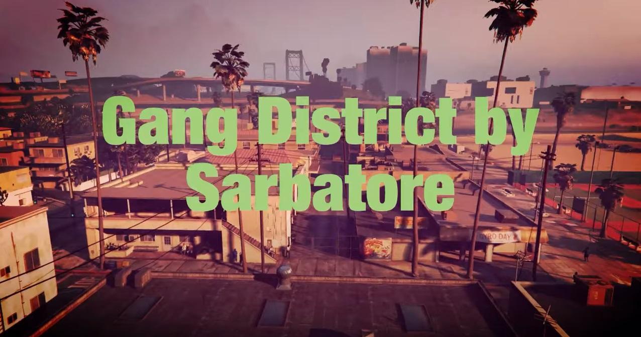 Gang District YMAP V 1.0