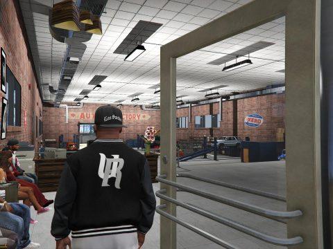 Grove Street Garage Upgrades - Mlo Interior and exterior upgrades v3.3df