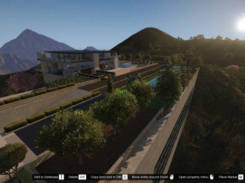 Paradise Mountain Mansion [YMAP | MENYOO] 1.0