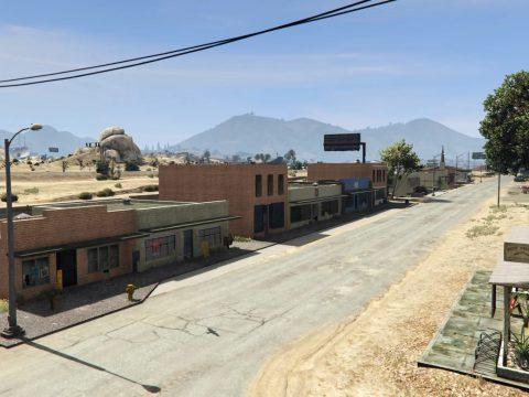 Revived Sandy Shores [YMAP / MapEditor / Menyoo] 2.0
