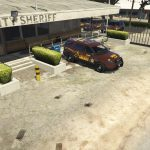 Sandy Shores Sheriff Parking - Mapping Exterior [YMAP] 1.0