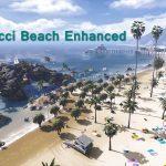 Vespucci Beach Enhanced + Huge Rock Formation(YMAP) 3.2