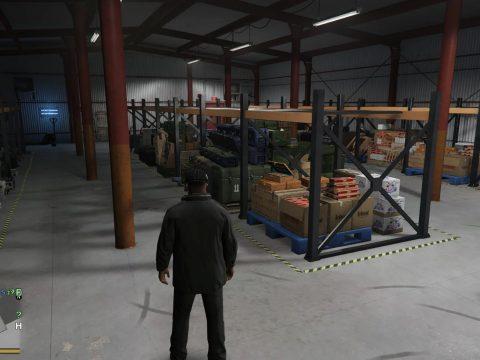 Warehouse Business & Heists 0.4