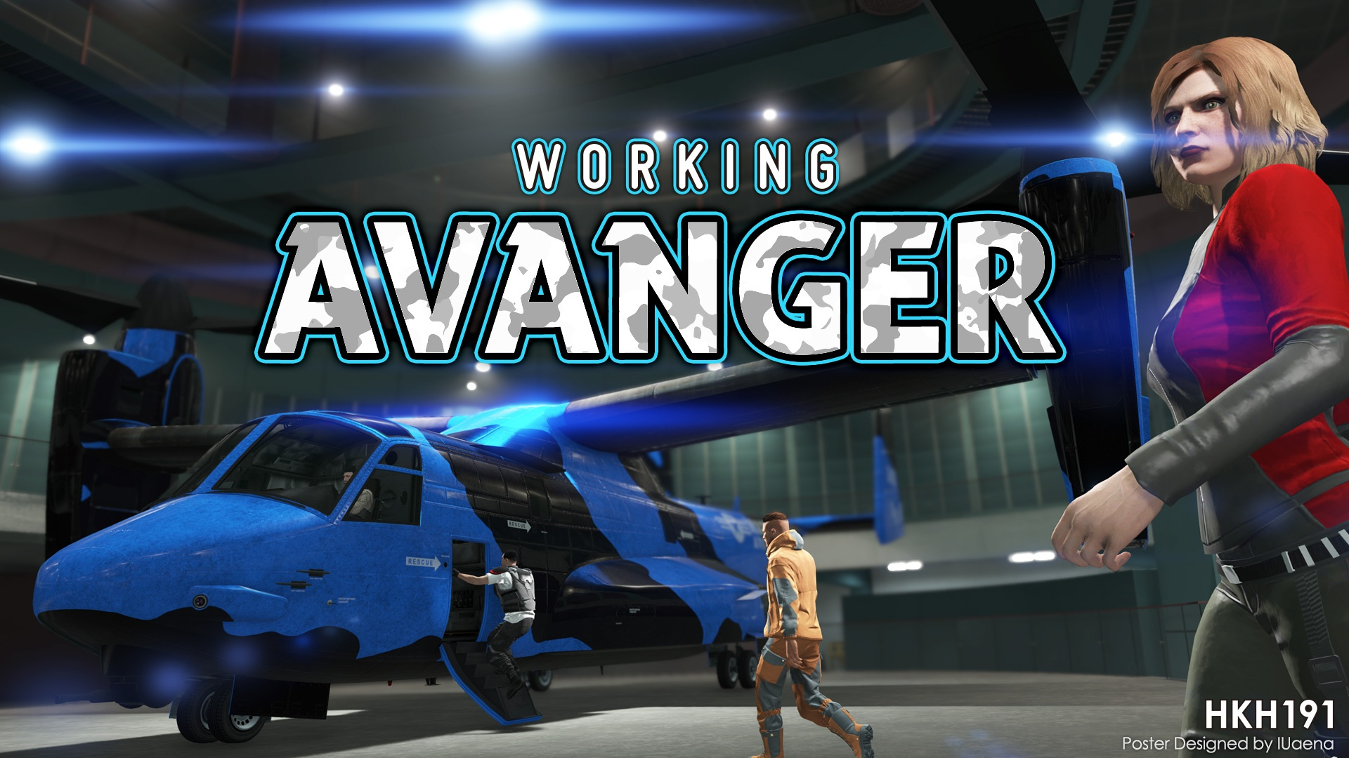 Working Avenger in SP 3.5 (Vehicle Purchase Menu Update)