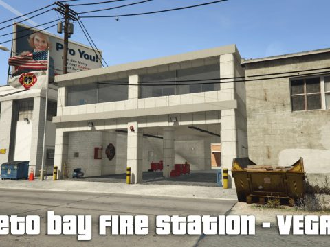 Paleto bay - fire station - fire house - Menyoo xml file 0.1