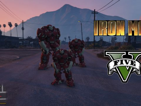 Bigger HulkBuster [Add-On Ped] 1.1