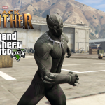 Black Panther from Civil War [Add-On Ped] 1.0