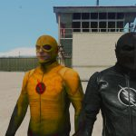 CW Flash and Reverse Flash + Zoom (Ported head) 2.0