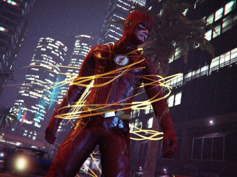 CW The Flash Characters Pack (Addon Ped Version) FINAL