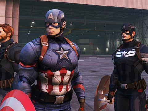 Captain America (Civil War & Winter Soldier) 1.9