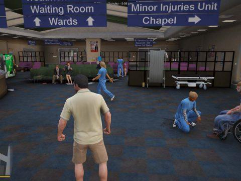 Central Medical Los Santos Interior [MLO] 1.1