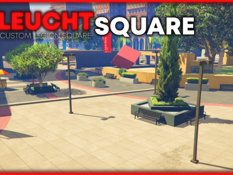 [LeuchtSquare] Custom Mapped Legion Square [FiveM/SP] v1.0