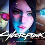 Cyberpunk-esque Custom Female Ped [Add-on Ped   Replace] v1.1