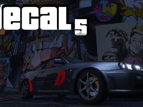 DECAL5 - Graffiti and Vehicle Vinyl Editor 1.1
