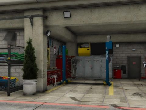 Dream garage [Menyoo] 1.0