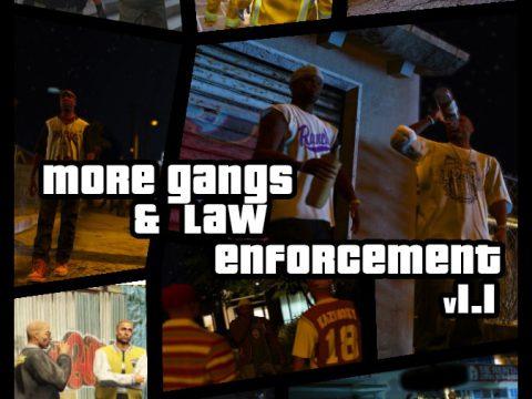 Enhanced Gangs & Law Enforcement 1.1