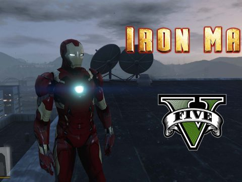 Iron Man Mark 46 [Add-On Ped] 1.0