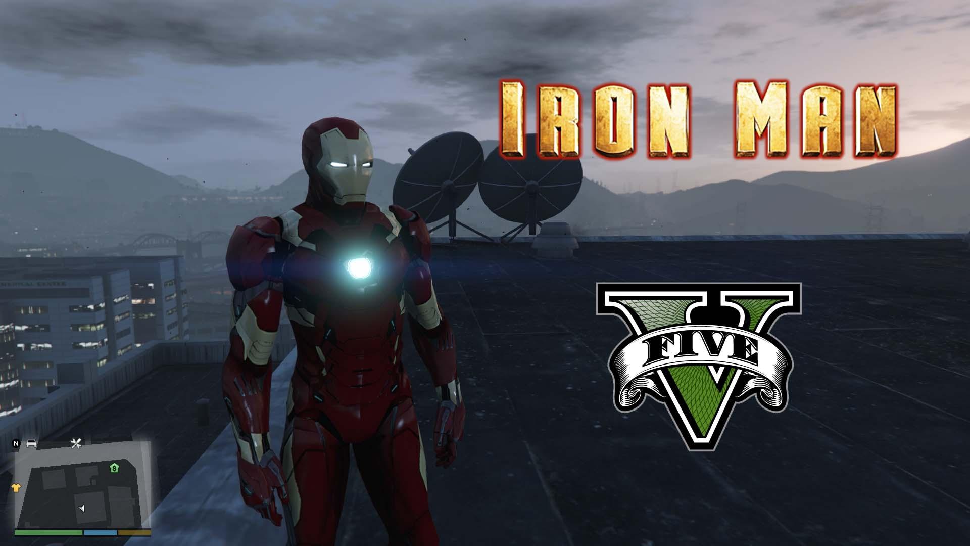 Iron Man Mark 46 [Add-On Ped] 1.0