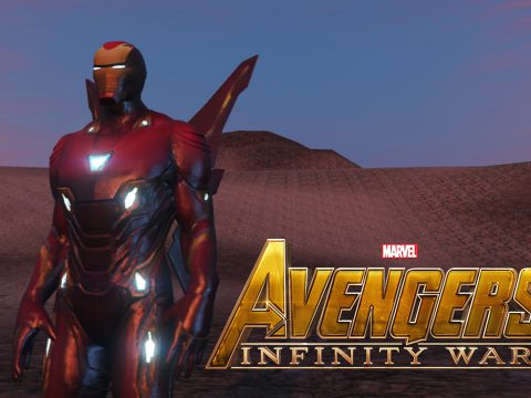 Iron Man Mark 50 (MFF version Full emissive update) 1.2