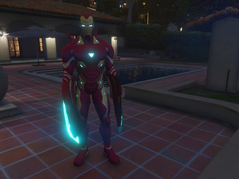 Iron man MK50 MCOC version [Add-on Ped]