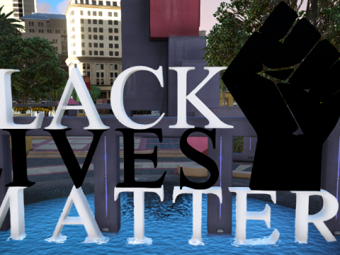 Legion Square - Black Lives Matter sign 1.0