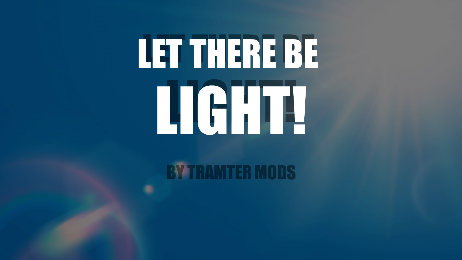 Let There Be Light : Removes Blacked Out windows From Vehicles 1.0