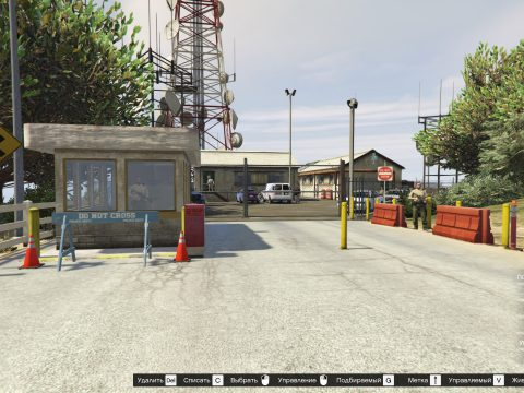 Map of the police station 1.0