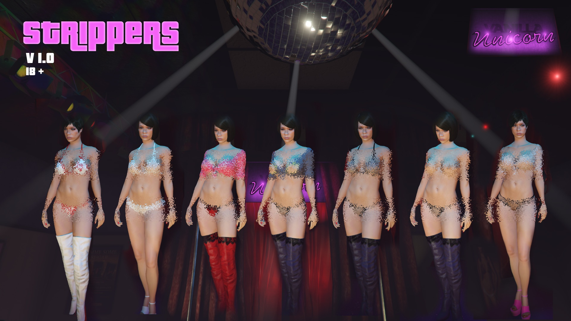 New Strippers v2