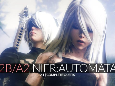 2B & A2 Nier Automata [Add-On Ped | Replace] v2.1