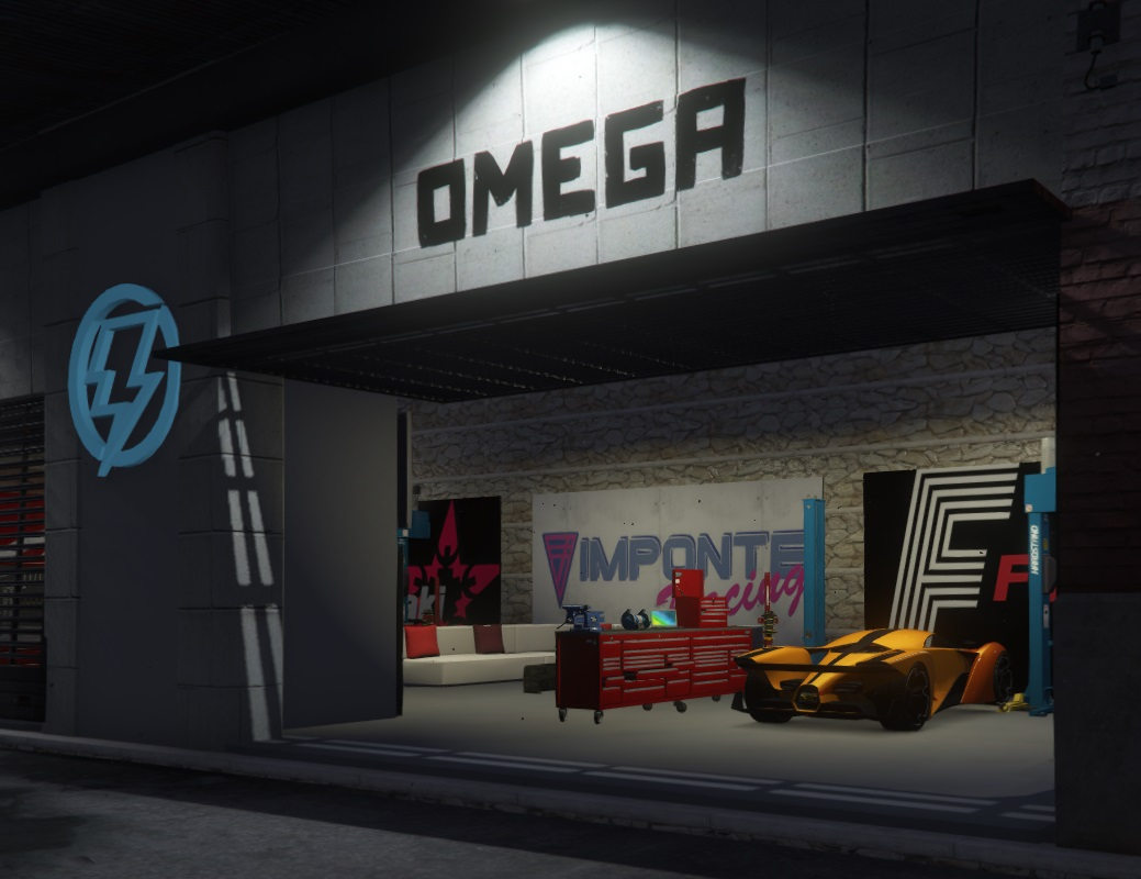 OMEGA City Mechanic [YMAP / FiveM]