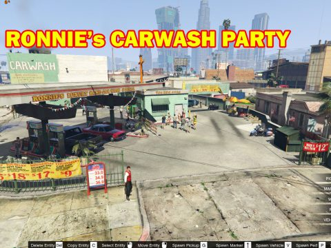 Party at Ronnie's Car Wash [MapEditor] 1.0