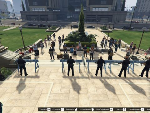 Protests at City Hall 1.0