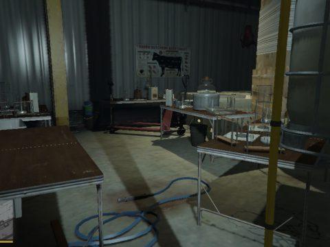 [MENYOO] Raven Slaughterhouse Hidden Drug Processing Lab (Methamphetamine, Heroin, LSD, ...) Cypress Flats 1.0