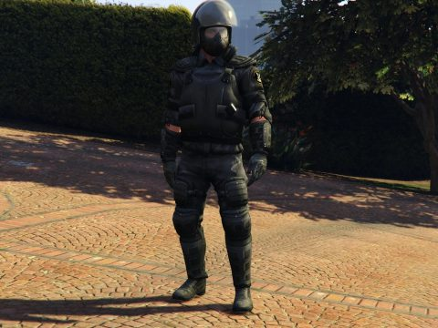 Riot Police [Add-On / Replace] 2.0