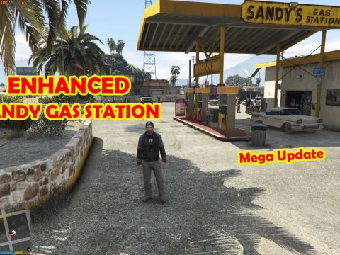 Sandy Gas Station Enhanced [MAP EDITOR] 1.0
