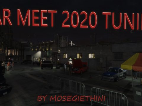 Tuning Car Meet / Show 2020 Menyoo 1.0