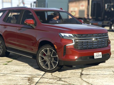2021 Chevrolet Tahoe RST | [Add-On] 1.0