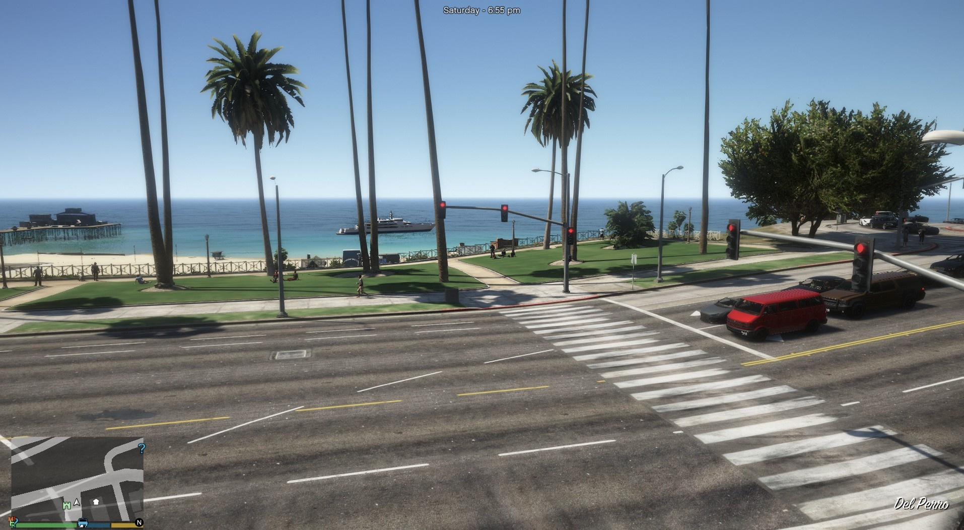 Add missing traffic lights.(MENYOO REQUIRED) 1.0