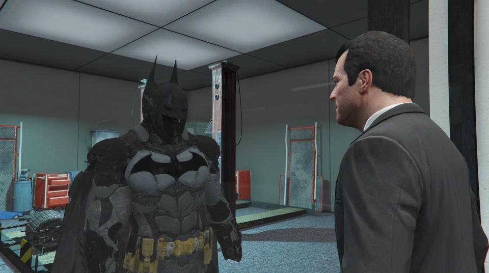 GTA IV Batman Arkham Origins Mod - YouTube