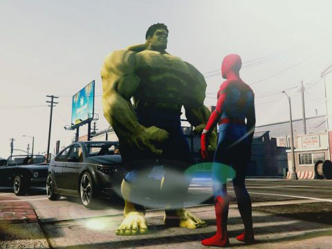 Bigger Hulk [Ped Add-On] 1.1