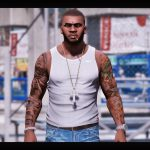 Body tattoos and Bullets Scars 3.3