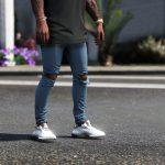 Distressed Denim Jeans 1.0